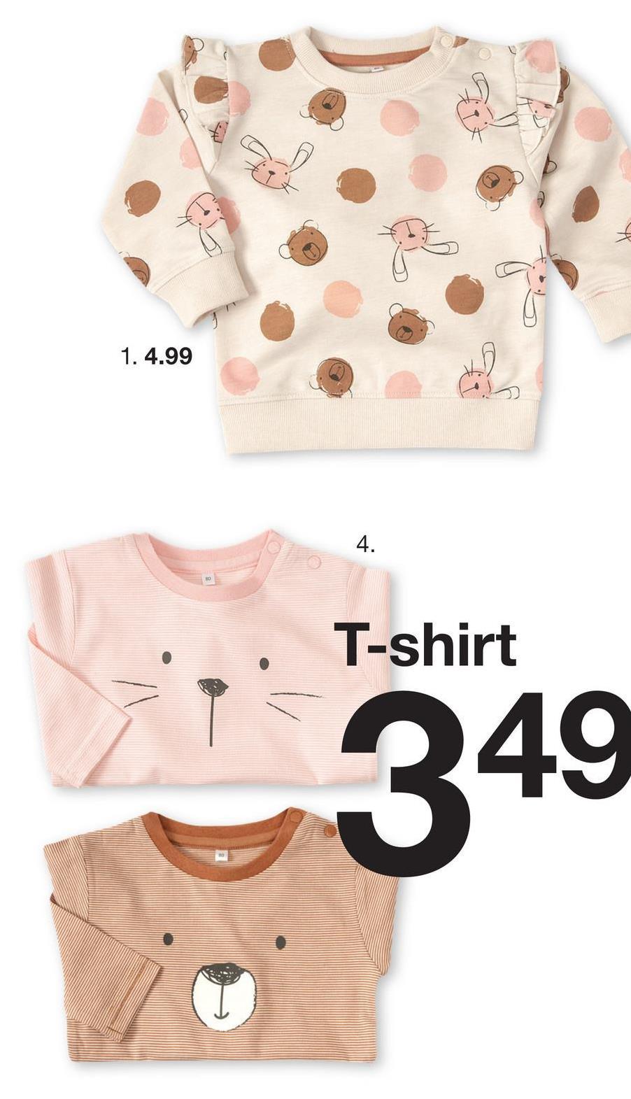 1. 4.99 . T-shirt
