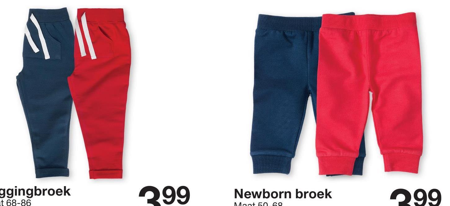 WM ggingbroek t 68-86 299 Newborn broek 299 Mot 50.00