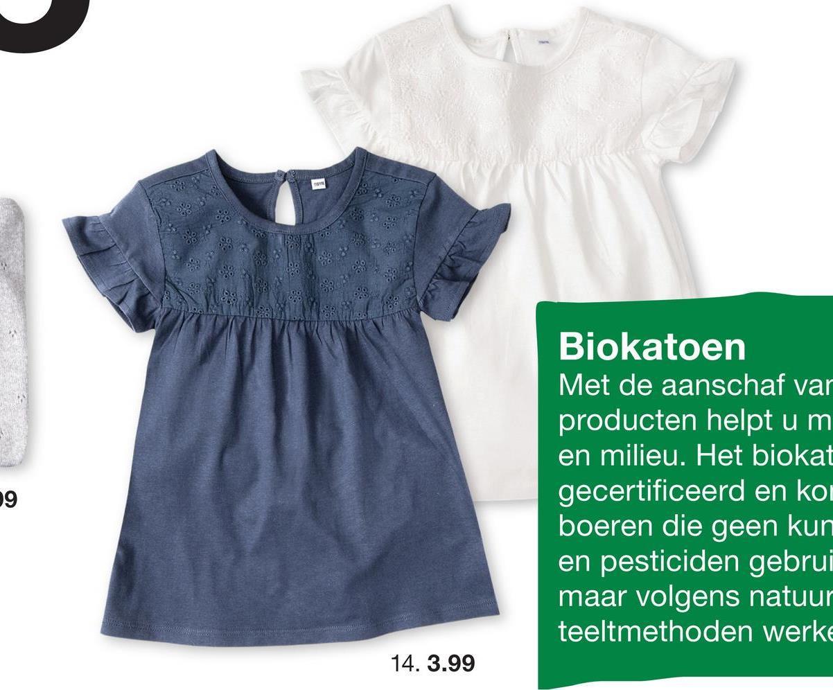 Biokatoen Met de aanschaf var producten helpt u m en milieu. Het biokat gecertificeerd en ko boeren die geen kun en pesticiden gebrui maar volgens natuur teeltmethoden werke 9 14. 3.99
