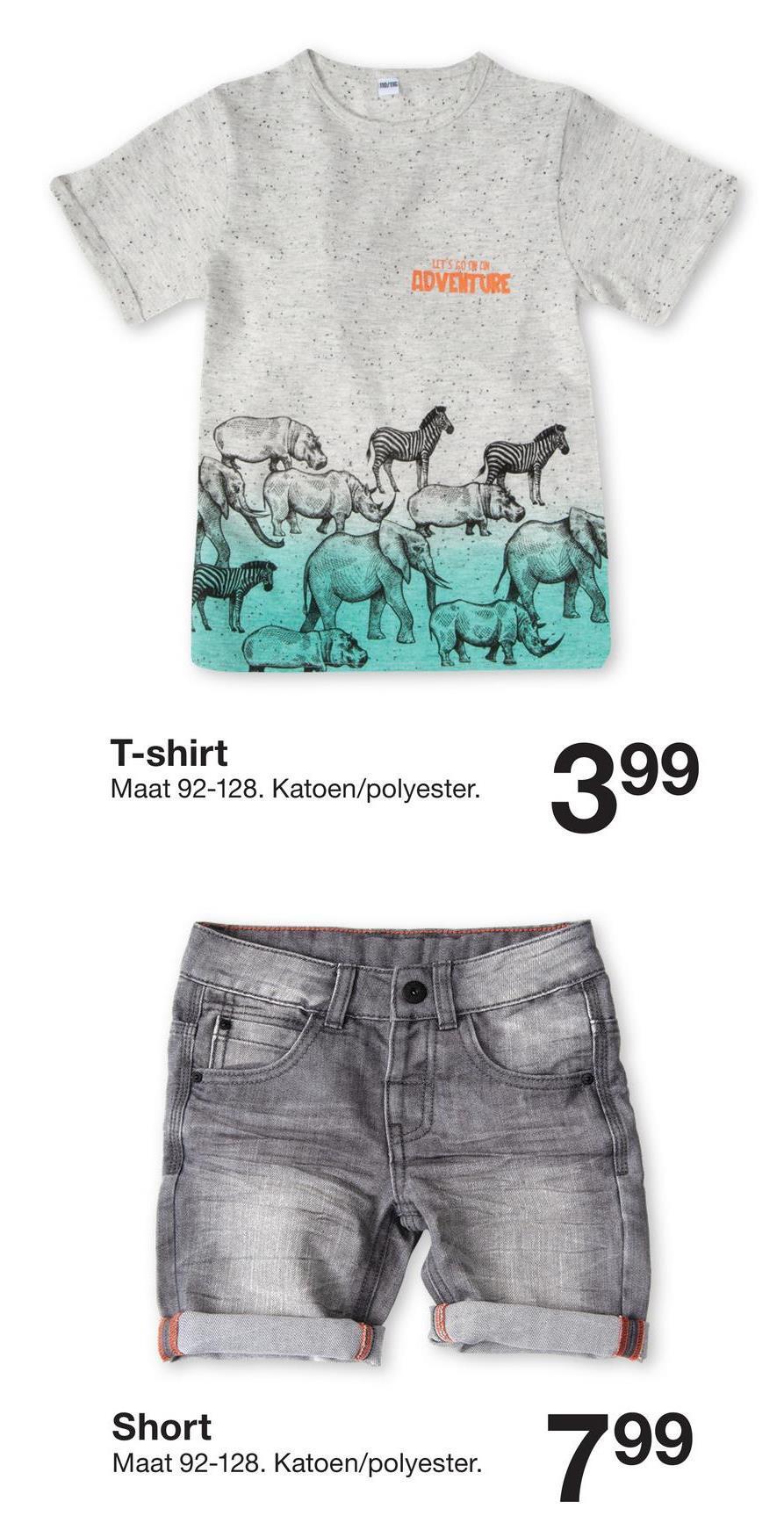 ROVE TUR T-shirt Maat 92-128. Katoen/polyester. mashartno. Katoenpolyester. 399 Short Maat 92-128. Katoen/polyester.