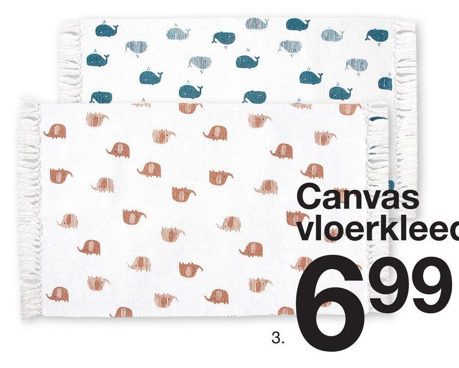- Canvas vloerkleed 699