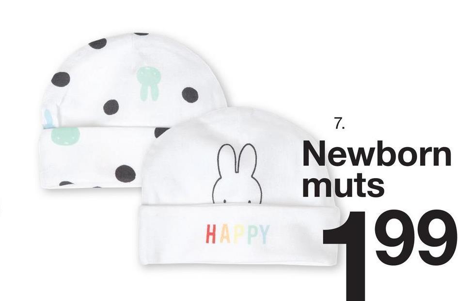 m Newborn 3 muts HA PY 199