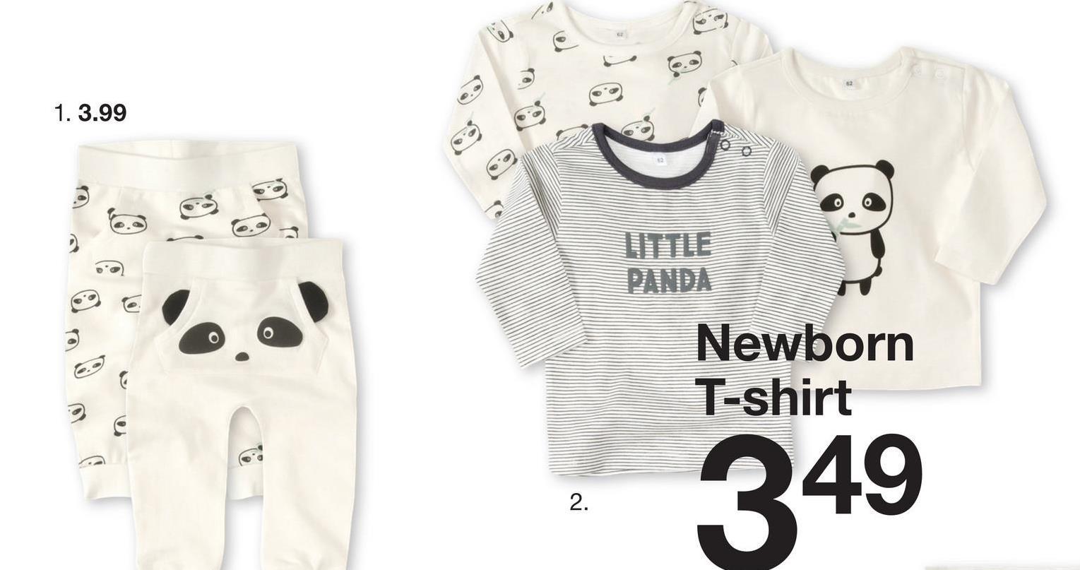 ) 1. 3.99 Newborn T-shirt 349