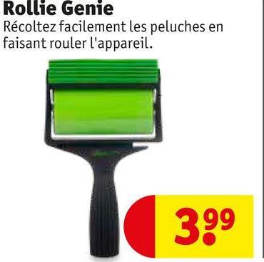 Rollie Genie Récoltez facilement les peluches en faisant rouler l'appareil. 399