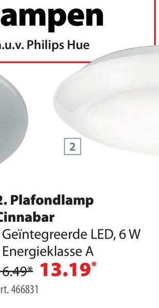 Philips Plafonniere MyLiving Cinnabar LED Wit 6W Philips heeft een verlichtingsarmatuur voor elke ruimte. De verlichting van de myLiving-serie bestaat uit creatieve modellen die eigentijdse trends, zoals leds, integreren. Een van die modellen is deze ronde Cinnabar plafondlamp van 6 watt of 600 lumen met een witte ring die voor een bijzondere lichtkrans zorgt.
