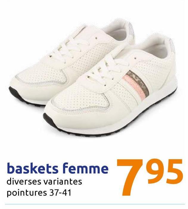 baskets femme diverses variantes pointures 37-41 baskets Femme 795