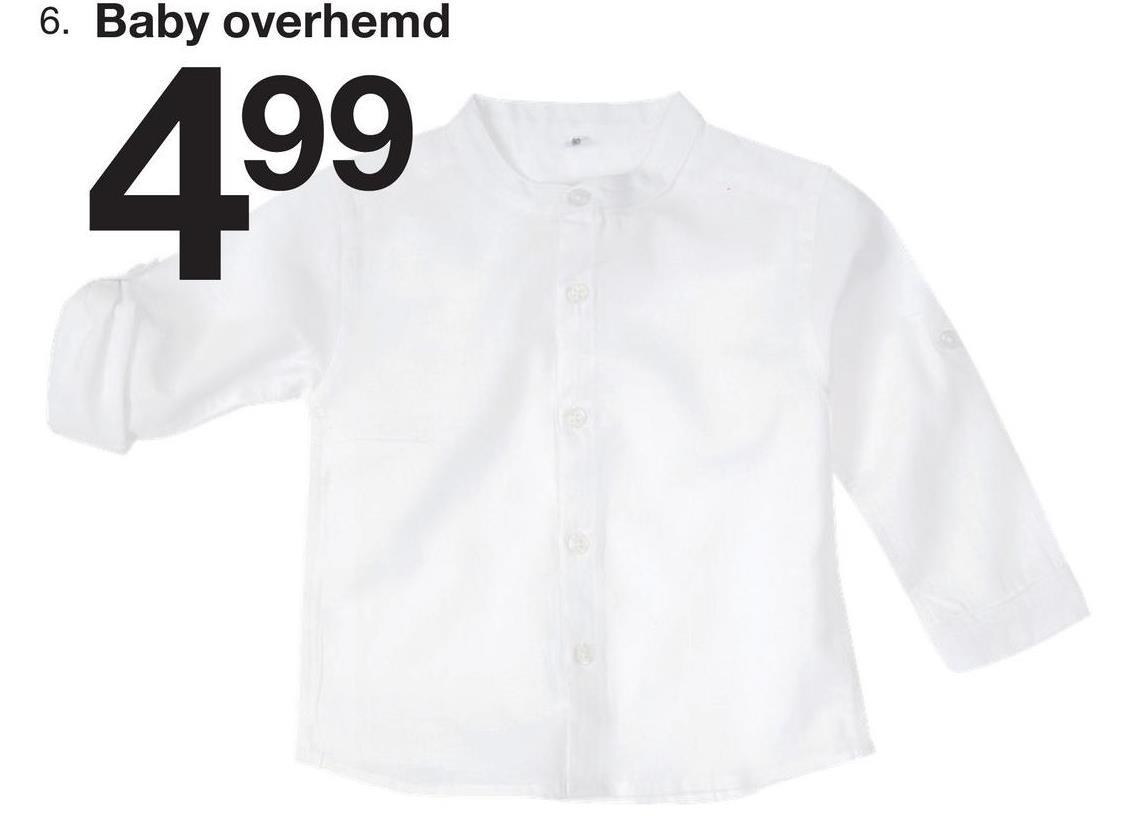 6. Baby overhemd 499