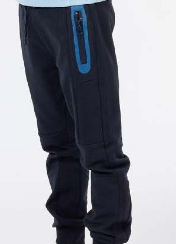 Joggingbroek Stone Kids - Navy - Katoen Comfortabele en trendy joggingbroek met elastische taille en aansnoerkoord voor jongens. Deze leuke joggingbroek met zakken is verkrijgbaar in verschillende kleuren.