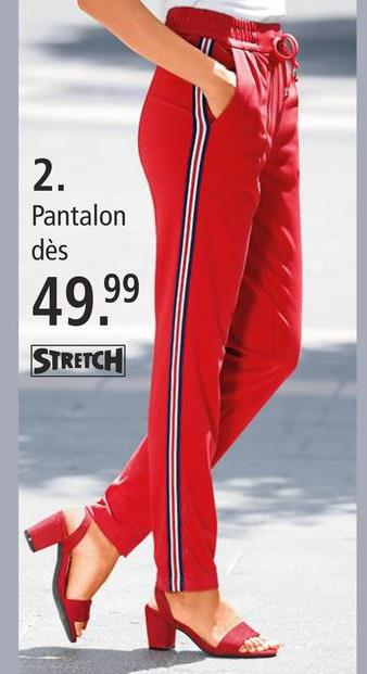 Pantalon Laura Kent Rouge Avec ce pantalon décontracté de la marque Laura Kent, vous ferez toujours sensation grâce à la coupe optimale de nos modèles. Avec ce pantalon, retrouvez le confort et la caresse d'une matière mélangée de grande qualité à part de viscose extensible. Ce modèle est de style décontracté grâce à sa coupe confortable. Sa ceinture extensible est d'une hauteur moyenne. Grâce à son coloris uni, il s'associe facilement. Faites-vous plaisir avec le pantalon Laura Kent – il vous suffit de le commander dans notre boutique en ligne!
