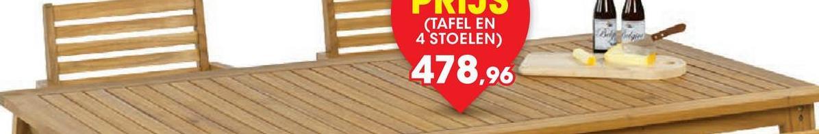 Tuintafel Torta 160x90 cm De rechthoekige houten tafel Torta van Garden Plus heeft opvallend elegante poten. Deze duurzame tuintafel in acaciahout meet 160x90x75 cm.