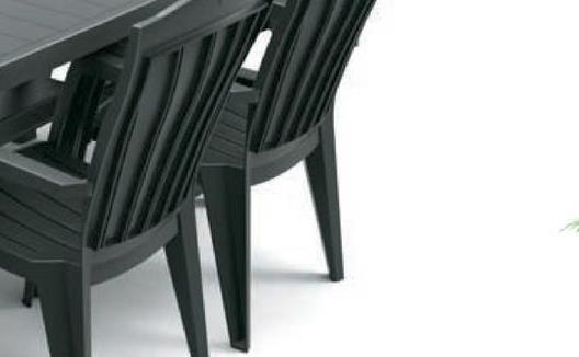 Tuinstoel Santorini blauw De blauwe stapelstoel Santorini van Jardin is een comfortabele stoel met hoge rug. De stoel is licht van gewicht en eenvoudig schoon te maken.Voordelen:<ul><li>Weerbestendig</li><li>Onderhoudsvrij</li><li>Gemakkelijk te reinigen</li><li>Stapelbaar</li></ul>
