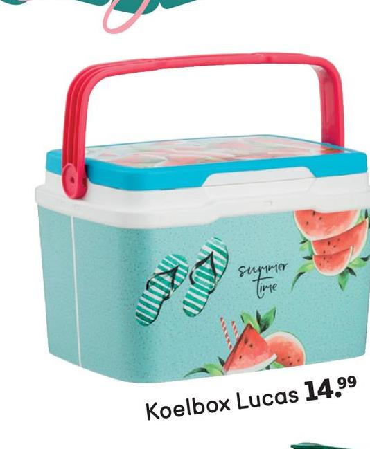 2011 summer Time Koelbox Lucas 14.99