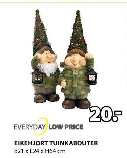 20: EVERYDAY LOW PRICE EIKEHJORT TUINKABOUTER B21 x L24 x H64 cm