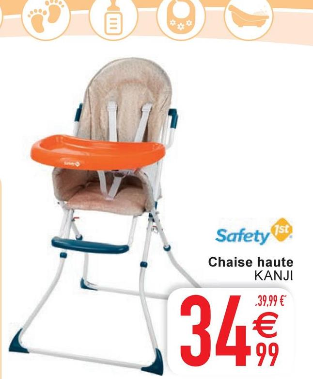 Safety 1st Chaise haute KANJI -39,99 € € 199