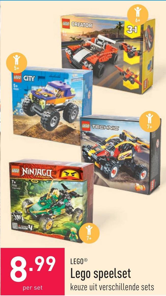 Lego speelset keuze uit verschillende sets