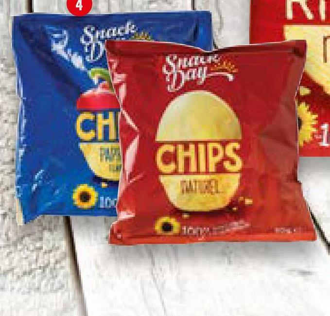 4 Snack CH CHIPS