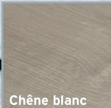 Stratifié clic chêne blanc 7 mm 2,47 m² Ouf, les avantages de notre stratifié à encliqueter sont quasiment infinis ! Pour en citer quelques-uns : super qualité-prix, plus installation et entretien très faciles. Le plus compliqué ? Choisir entre les différentes dimensions et finitions, dont ce stratifié chêne blanc.