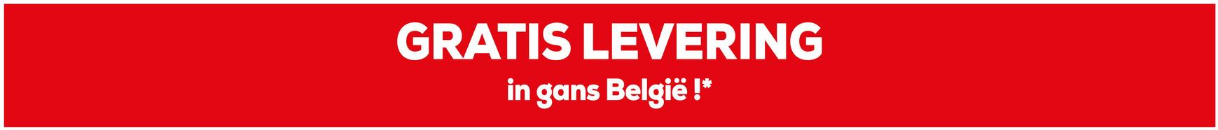 GRATIS LEVERING in gans België !*