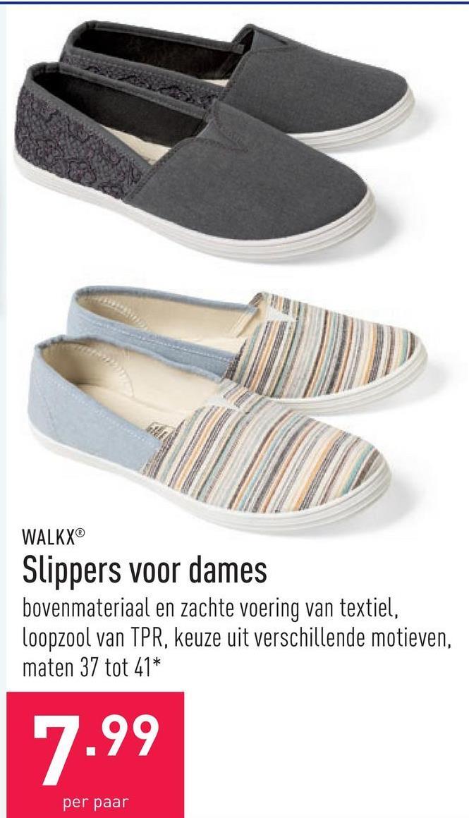Slippers voor dames bovenmateriaal en zachte voering van textiel, loopzool van TPR, keuze uit verschillende motieven, maten 37 tot 41*