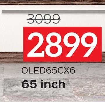 3099 2899 OLED65CX6 65 inch