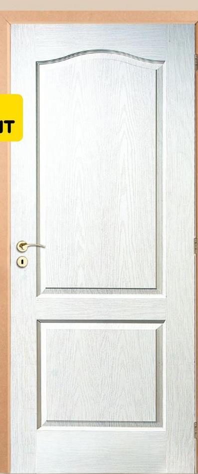 Bloc-porte Thys 'Concept Woodline Romantic' à peindre 73cm Le bloc-porte Thys 'Concept Woodline Romantic' de 73cm est un modèle prêt-à-poser complet. Il comprend la feuille de porte, l'ébrasement de 16,9cm de large, les chambranles et les listels. Ce bloc-porte est postformé, structuré et prélaqué. La quincaillerie telle que la serrure Litto, les charnières à billes et les vis de montage sont aussi comprises. Seule la poignée est vendue séparément afin que vous puissiez choisir celle qui répond le mieux à vos envies !