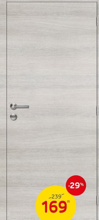 Bloc-porte Thys 'Concept S61 Ardenne' chêne horizontal tubulaire 73 cm Le bloc-porte 'Concept S61 Ardenne' chêne horizontal tubulaire 73 cm de Thys est un modèle prêt-à-poser complet. Grâce à son aspect chêne français avec une teinte actuelle gris léger et un effet cérusé blanc argenté, il crée une ambiance conviviale dans votre maison. Cet ensemble comprend la feuille de porte, l'ébrasement muni d'un joint acoustique et isolant et les chambranles. La quincaillerie telle que la serrure Litto, les charnières à billes et les vis de montage sont aussi comprises. Seule la poignée est vendue séparément afin de vous donner le choix.