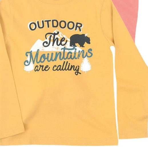 OUTDOOR The Mountains are calling