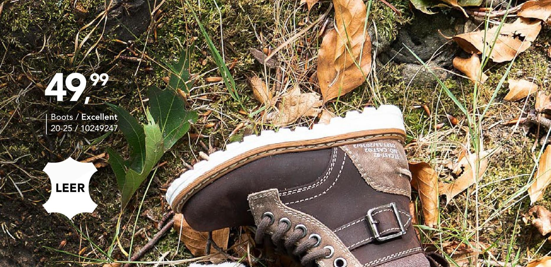 Leren boot Excellent - Bruin - maat 20 - Goedkope Hoge schoenen & boots - Hoge schoenen & Boots - Leer Stoere boot in echt leer van het merk Excellent voor jongens. Dit model met warme voering en rubberen schoenzool is een echte must-have tijdens de koude wintermaanden! Dankzij de ritssluiting kan je deze enkellaars bovendien makkelijk en snel aan- en uittrekken.