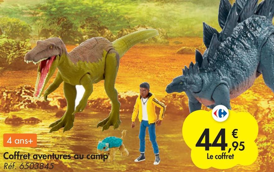 4 ans+ Coffret aventures au camp Réf. 6503845 € ,95 Le coffret WE