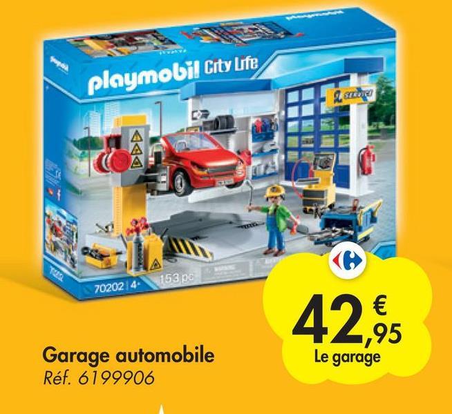 playmobil City Life so 153 702024 42.95 Le garage Garage automobile Réf. 6199906