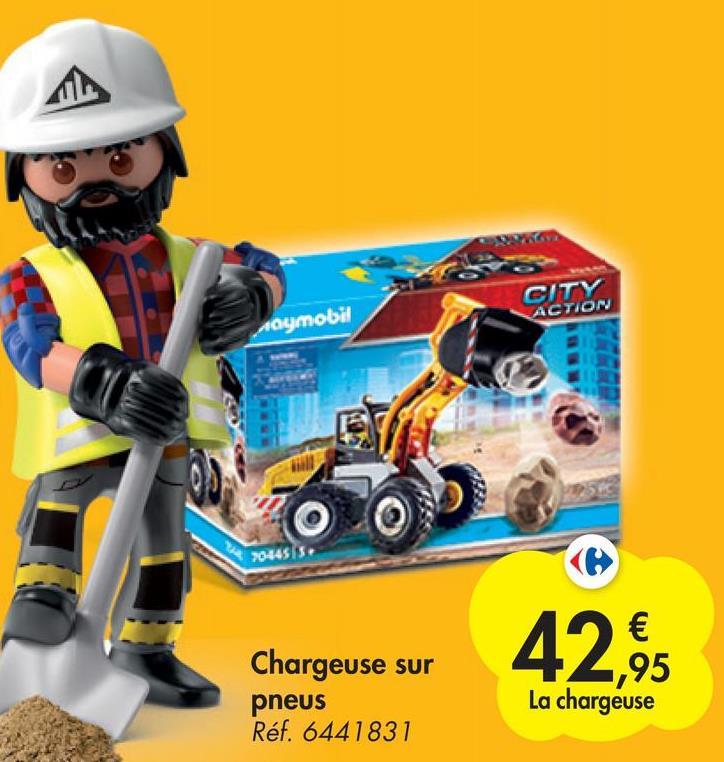 CITY ACTION naymobil 70445/5 Chargeuse sur pneus Réf. 6441831 € ,95 La chargeuse
