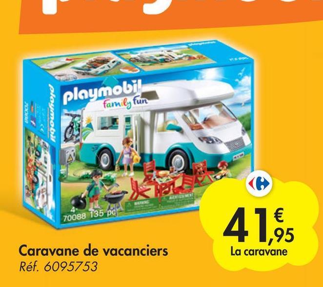 playamabad playmobil family fun 70088 135 po € ,95 La caravane Caravane de vacanciers Réf. 6095753