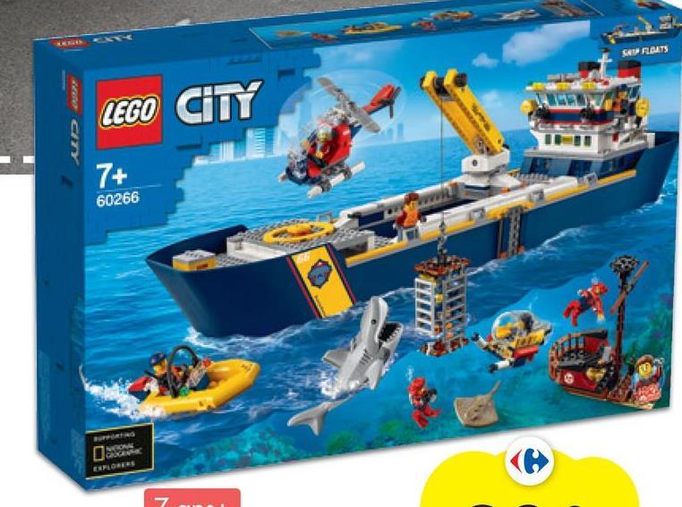 SA RATS UD RASE LEGO CITY 7+ 60266 CALOR
