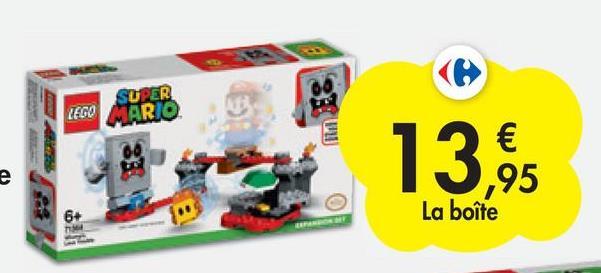 SUPER LEGO MARIO 00 e € ,95 La boîte 6+