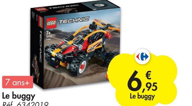 LEGO TECHNIC 7+ 7 ans+ Le buggy Raf 6312019 € ,95 Le buggy