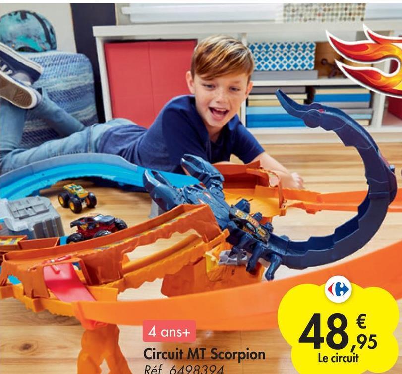3 4 ans+ Circuit MT Scorpion Réf. 6498394 48,45 € ,95 Le circuit