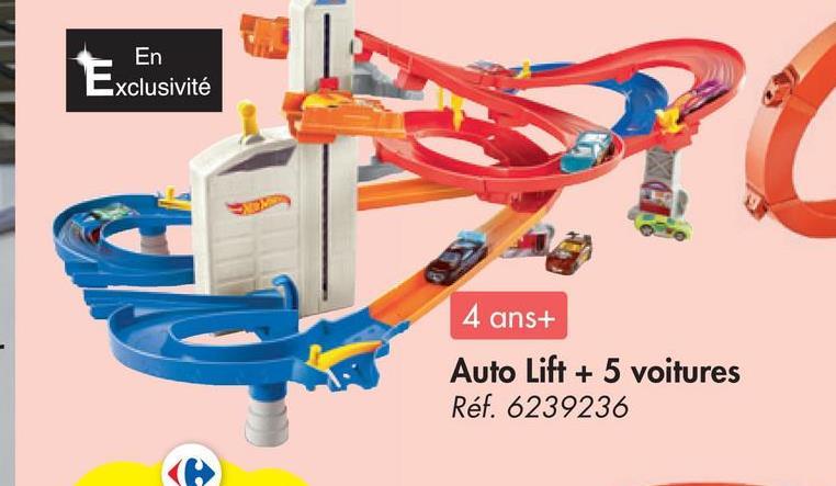 En Exclusivité 4 ans+ Auto Lift + 5 voitures Réf. 6239236