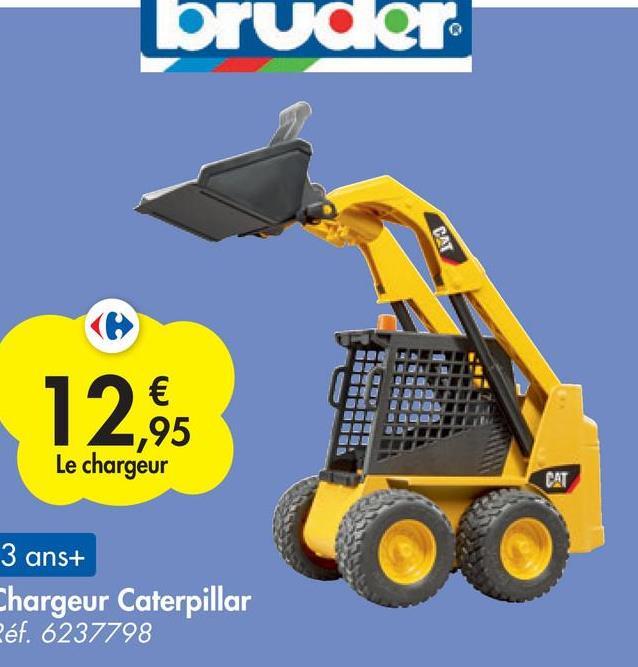 bruder CAT 12,95 € 95 Le chargeur DOWS CAT 3 ans+ Chargeur Caterpillar Péf. 6237798