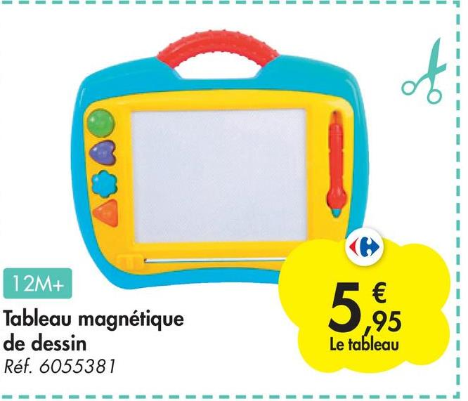 - - 1 1 1 1 of 12M+ Tableau magnétique de dessin Réf. 6055381 5,95 Le tableau