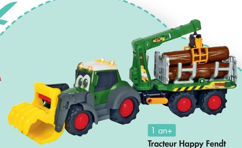 1 an+ Tracteur Happy Fendt
