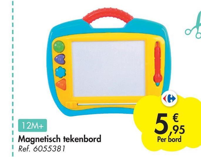 1 and € ,95 12M+ Magnetisch tekenbord I Ref. 6055381 Per bord