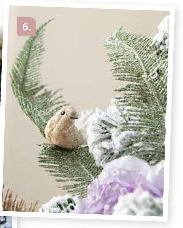 """AVA selection Vogel Op Clip Wit Met Veren 8x3x3cm Wit Een kerstbal of andere hanger op de juiste plaats in de kerstboom krijgen kan soms nogal een gedoe zijn. Kerstboomversiering op clip is gemakkelijk om de lastig te bereiken plekken op te vullen.<br><br><a href=""""/nl/kerst/themas/frosted-poetry"""" target=""""_blank""""> Klik hier om terug te gaan naar alles van het thema Frosted Poetry.</a>"""