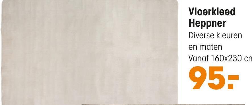 Vloerkleed Heppner Bruin Rechthoekig vloerkleed bruin. Warmte isolerend, slijtvast en geluiddempend. 160x230 cm (lxb).