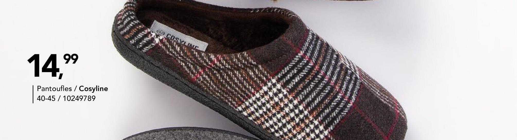 Pantoufle Cosy Line - Brun foncé Pantoufle Cosy Line. Chez Bristol, vous achetez de la mode à bon prix pour toute la famille ! Vêtements, chaussures, accessoires et articles de sport.