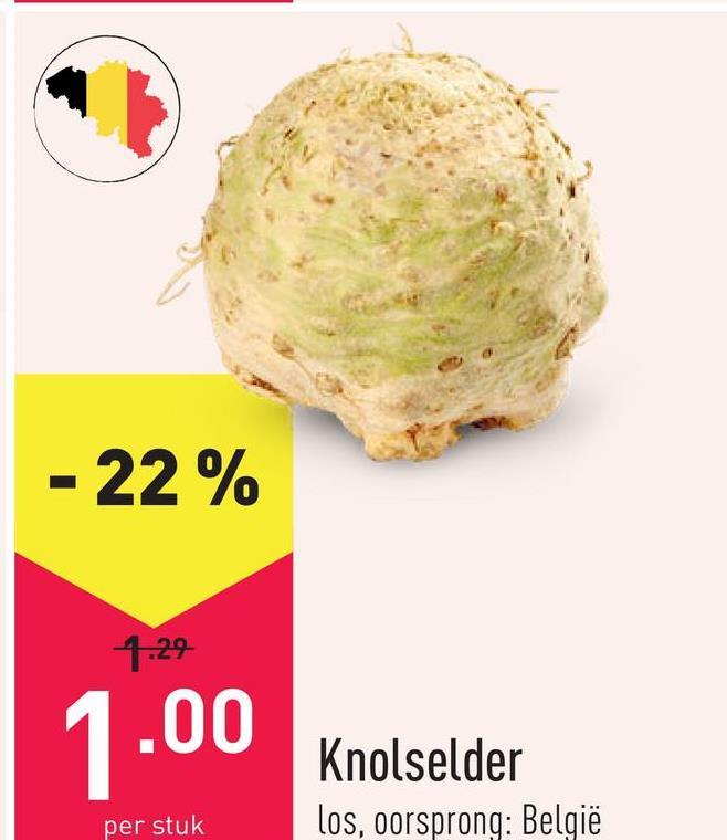 Knolselder los, oorsprong: België