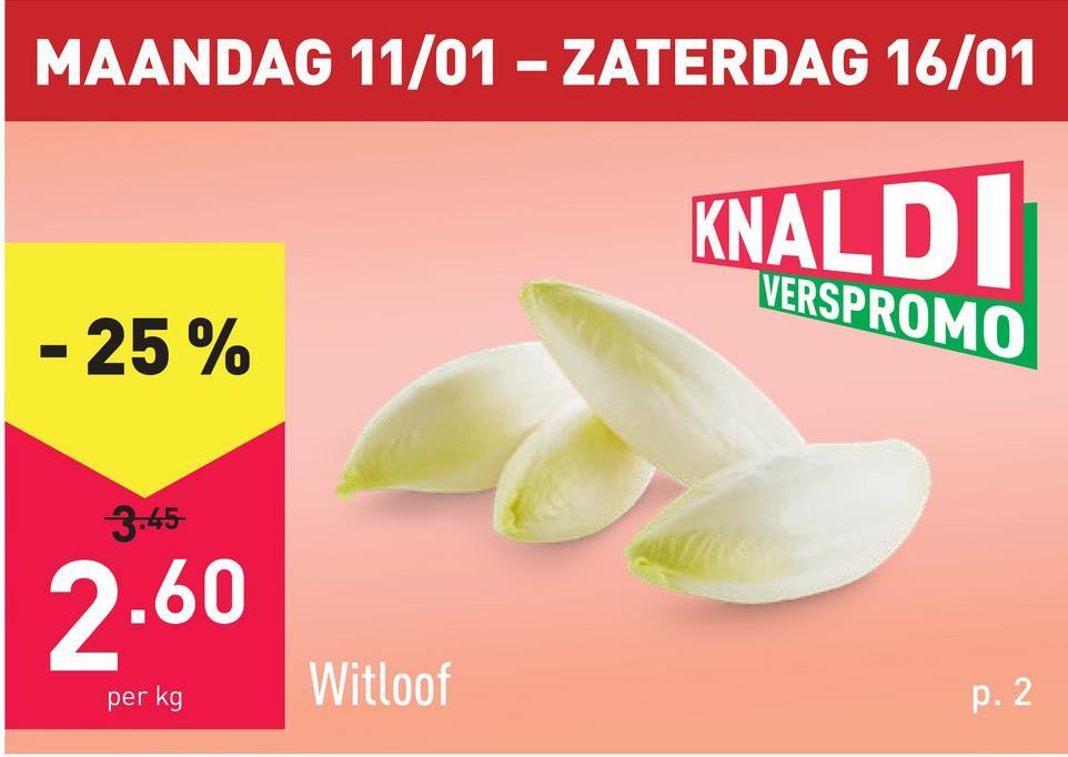 Witloof verpakt, oorsprong: België, Nederland