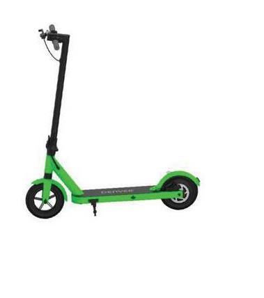 """Elektrische Step Denver Sco-85350 Groen Met de Denver SCO-85350 elektrische step kan je je snel, comfortabel en leuk verplaatsen. De step weegt 14kg en is hoofdzakelijk gemaakt van aluminium. Hij is uitgerust met een schokdemper voor en 8-inch rubberen wielen voor optimaal rijcomfort (luchtwiel vooraan massief wiel achteraan). Met de 350W motor kunt u 18 km rijden en een snelheid van 20 km/u bereiken. Er zijn drie versnellingen: ECO: 6 km/u -D: 12 km/u S: 20 km/u. De step kan tot 120kg dragen en is uitgerust met een schijfrem aan de achterzijde en een LED-display waarop wordt aangegeven: de afgelegde afstand, de snelheid en de staat van de accu. Voor extra veiligheid zijn er ook LED-koplampen geïnstalleerd aan de vooren achterzijde van de step. Niet vergeten! Fietsen, fietstoebehoren, steps, hoverboards en andere alternatieve mobiliteitshulpmiddelen met of zonder elektrische motor zijn betaalbaar in ecocheques in een Auto5center """". - Leuk en gemakkelijk om zich te verplaatsen - Rijcomfort - 18km autonomie - Lichtgewicht en gemakkelijk te vervoeren dankzij het opklapmechanisme"""