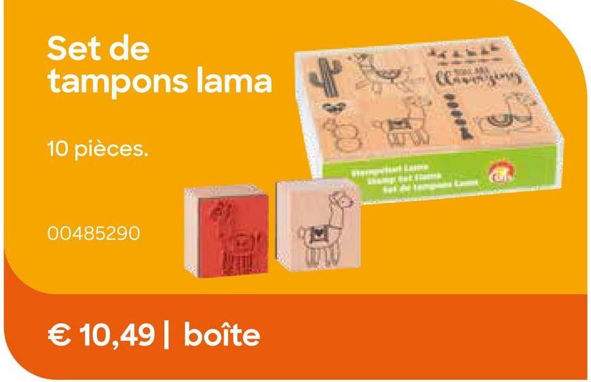 AVA selection Kit Tampon Lama 10 Pièces