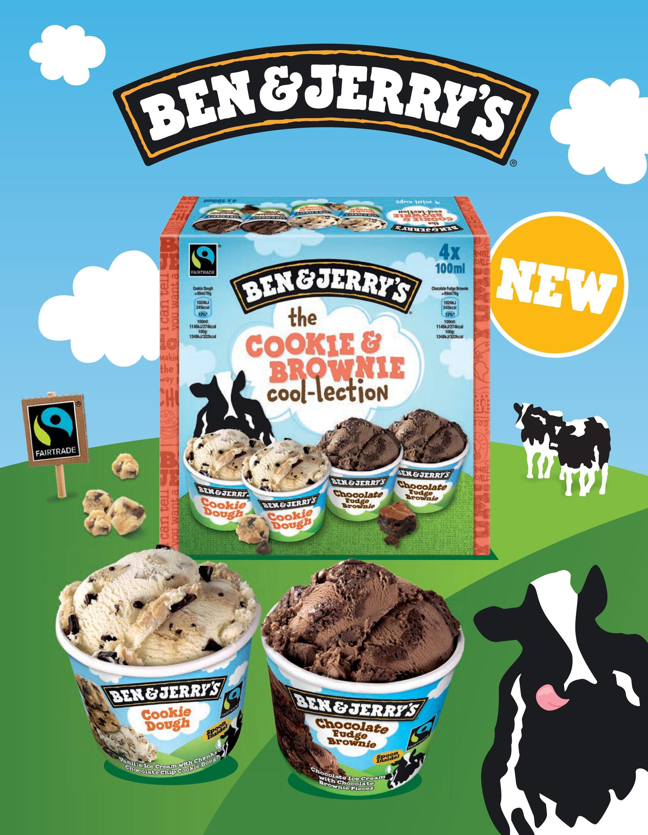 BEN&JERRY'S DOEX ***** Ho991-1os CETE UN лицевих 4x Na ORLD 100ml FAIRTRADE Cookie Daugh 9765 NEW BEN&IERRY'S Chocolate Fudge Brown B769 edo can tell 10240 245kcal 1024) 245kcal 12% 100ml 1145kJ/274kcal 100 100m 11461/77kcal 100g Makin the way the COOKIE & BROWNIE cool-lection CHO a FAIRTRADE B. ANGE JORU AER & JERRY'S LEN & JERRFS Chocolate Budge Chocolate Brown.de Fudge Brown.de 11 BEN&JERRY Cookie Dough can tell LEN & JERRY'S Cookie Dough BEN&JERRY'S Cookie Dough 09 BEN&JERRY'S Chocolate LAM Spoo Fudge Brownie Spoon み! do! Vanilla Ice Cream with Chunks Chocolate Chip Cookie dough Chocolate Ice Cream with Chocolate Brownio Pieces