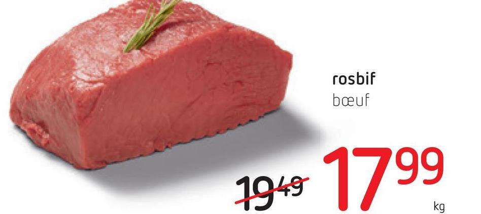 rosbif beuf 1949 1799